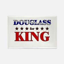 DOUGLASS for king Rectangle Magnet