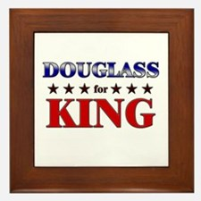 DOUGLASS for king Framed Tile