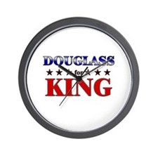 DOUGLASS for king Wall Clock