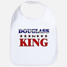 DOUGLASS for king Bib