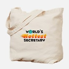 World's Hottest Secre.. (C) Tote Bag