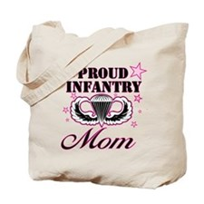 Proud Infantry Mom Tote Bag