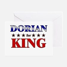 DORIAN for king Greeting Card