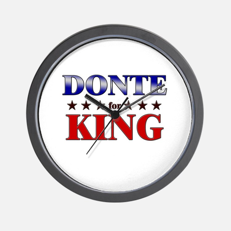 DONTE for king Wall Clock