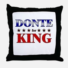 DONTE for king Throw Pillow