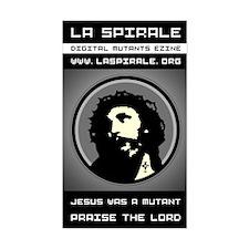 <b>LA SPIRALE JESUS</b><br>Rectangular Decal