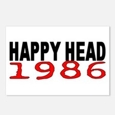 HAPPY HEAD 1986 Postcards (Package of 8)