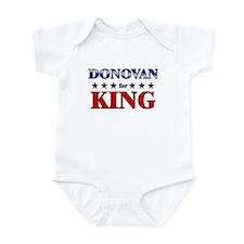 DONOVAN for king Infant Bodysuit