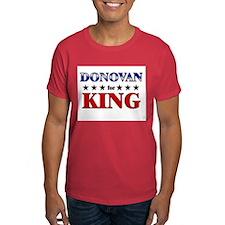 DONOVAN for king T-Shirt