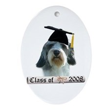 PBGV Grad 08 Oval Ornament
