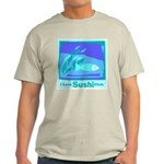 Sushi Ash Grey T-Shirt