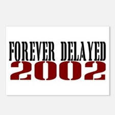 FOREVER DELAYED 2002 Postcards (Package of 8)