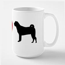 I Heart Shar Pei Mug