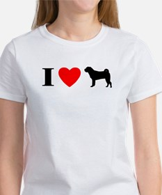 I Heart Shar Pei Women's T-Shirt