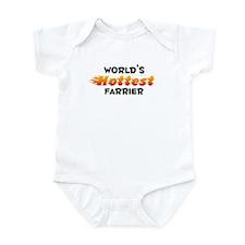 World's Hottest Farrier (B) Infant Bodysuit