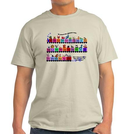 Alphabet Train Light T-Shirt