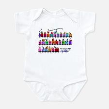 Alphabet Train Infant Bodysuit