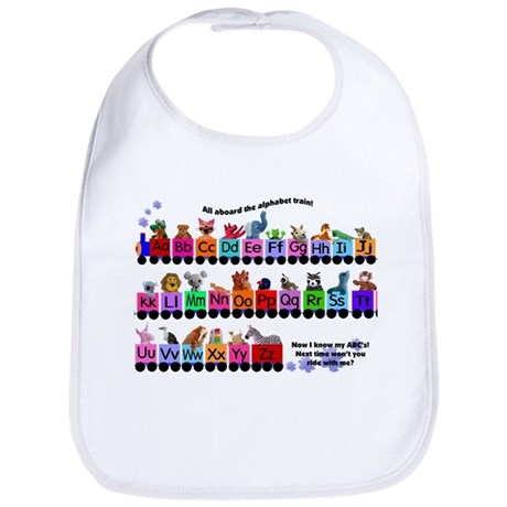 Alphabet Train Bib