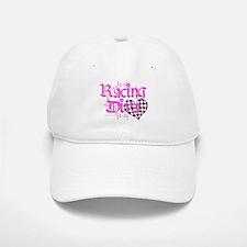 Racing Diva Pink Baseball Baseball Cap