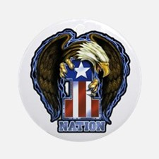 One Nation Ornament (Round)