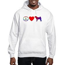 Peace Love Shar-Pei Jumper Hoody