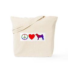 Peace Love Shar-Pei Tote Bag