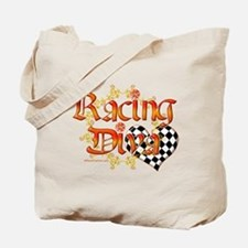 Racing Diva Orange Tote Bag