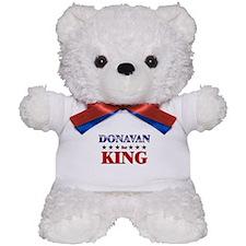 DONAVAN for king Teddy Bear