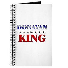 DONAVAN for king Journal