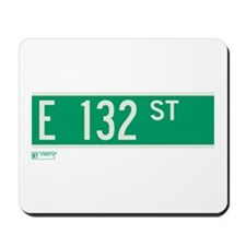 132nd Street in NY Mousepad