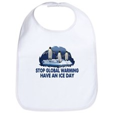 Penguin Global Warming Bib