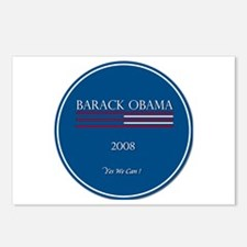 Funny 2008 michelle and obama Postcards (Package of 8)