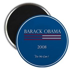Cute 2008 michelle and obama Magnet