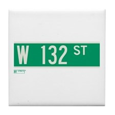 132nd Street in NY Tile Coaster