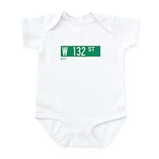 132nd Street in NY Infant Bodysuit