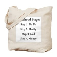 Childhood Stages Tote Bag
