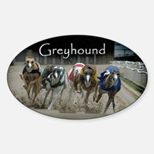 Greyhounds Oval Decal