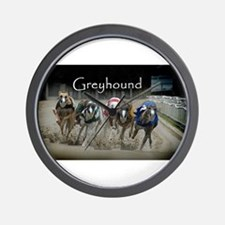 Greyhounds Wall Clock