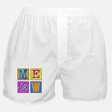 Warhol Inspired Meow Boxer Shorts