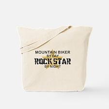 Mountain Biker RockStar Tote Bag