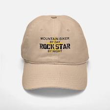 Mountain Biker RockStar Baseball Baseball Cap