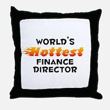 World's Hottest Finan.. (B) Throw Pillow