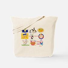 Happy Purim Collage Tote Bag