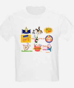 Happy Purim Collage T-Shirt