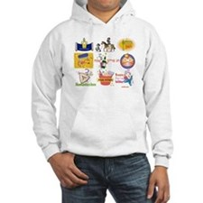 Happy Purim Collage Hoodie
