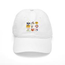 Happy Purim Collage Baseball Cap