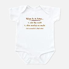 Baby's Agenda Infant Bodysuit