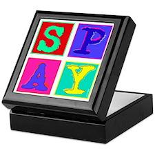 Pop Art Spay Keepsake Box