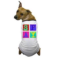 Pop Art Spay Dog T-Shirt