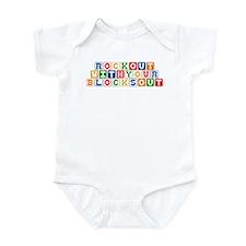 Rockin Blocks Infant Bodysuit